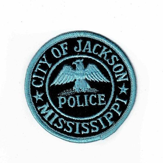 City of Jackson Police - Authentic Original Cloth Police Badge
