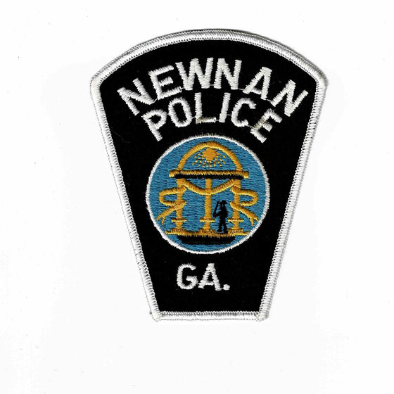 Newnan Police - Authentic Original Cloth Police Badge