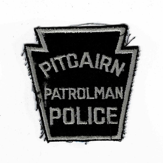 Pitcairn Police - Authentic Original Cloth Police Badge