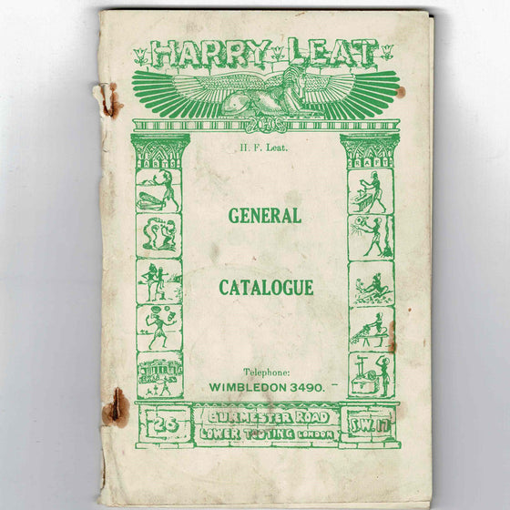 Harry Leat Magic - General Catalogue circa 1930s
