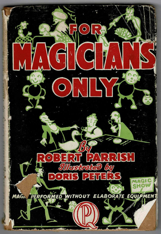 For Magicians Only - Robert Parish 1946 First Edition