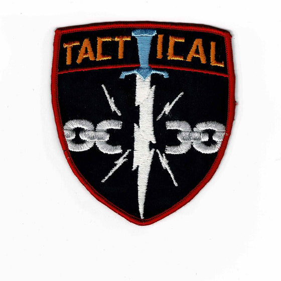 Tactical Police - Authentic Original Cloth Police Badge