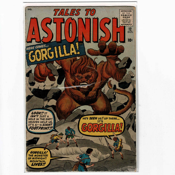 Tales to Astonish #12 Oct 1960 Comic Book
