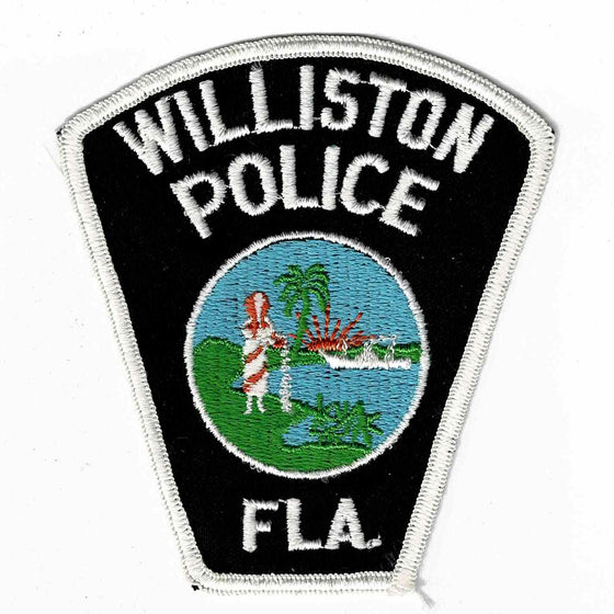 Williston Police - Authentic Original Cloth Police Badge