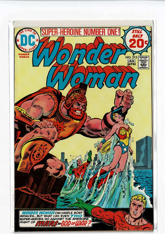 Wonder Woman #215 Jan 1975 Comic Book