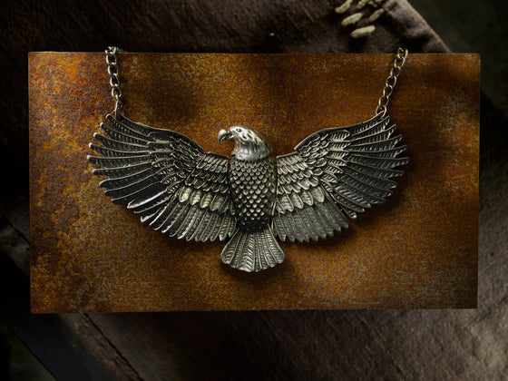 Vintage Eagle Necklace.