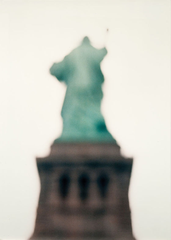 Statue of Liberty framed c-type photograph 170cm x 120cm