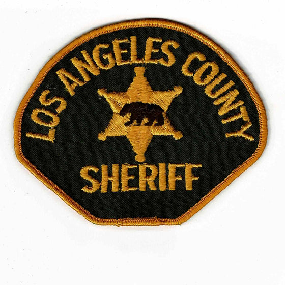 Los Angeles County Police - Authentic Original Cloth Police Badge