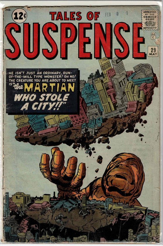 Tales of Suspense #29 May 1962 Comic Book