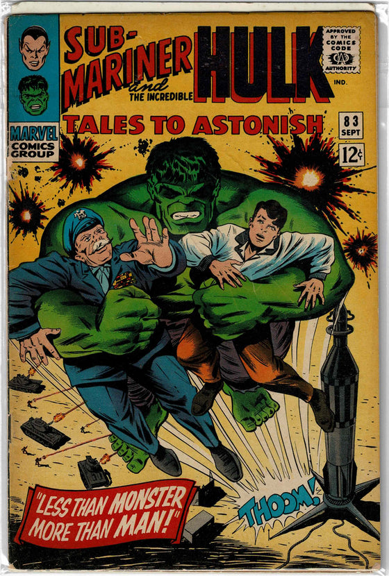 Tales to Astonish #83 Sep 1966 Comic Book