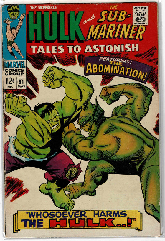 Tales to Astonish #91 May 1967 Comic Book