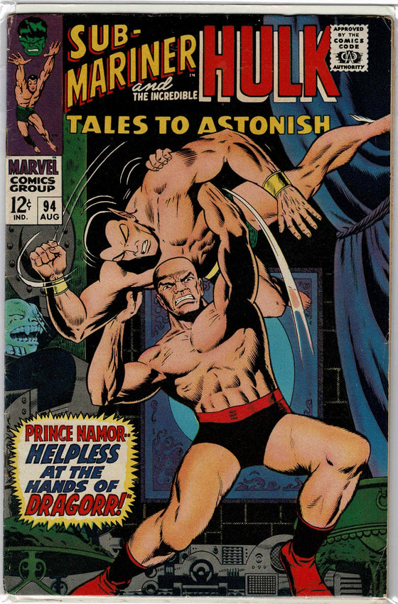 Tales to Astonish #94 Aug 1967 Comic Book