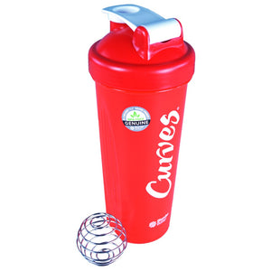 Curves Blender Bottle - Red - 32oz