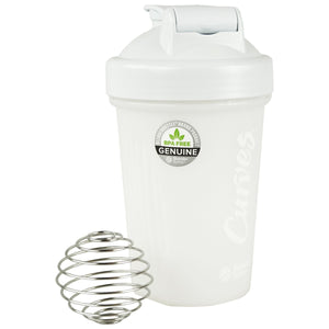 Curves Blender Bottle - White