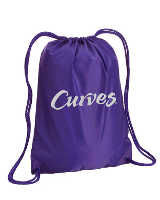 Curves Drawstring Bag