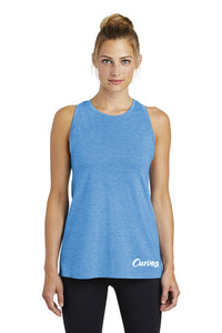 Curves High Neck Performance Racerback Tank