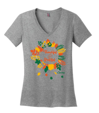 Thankful and Grateful Holiday Shirt