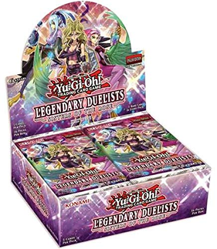 Yu-Gi-Oh! - Legendary Duelists Sisters of the Rose - Booster Box (Factory Sealed)