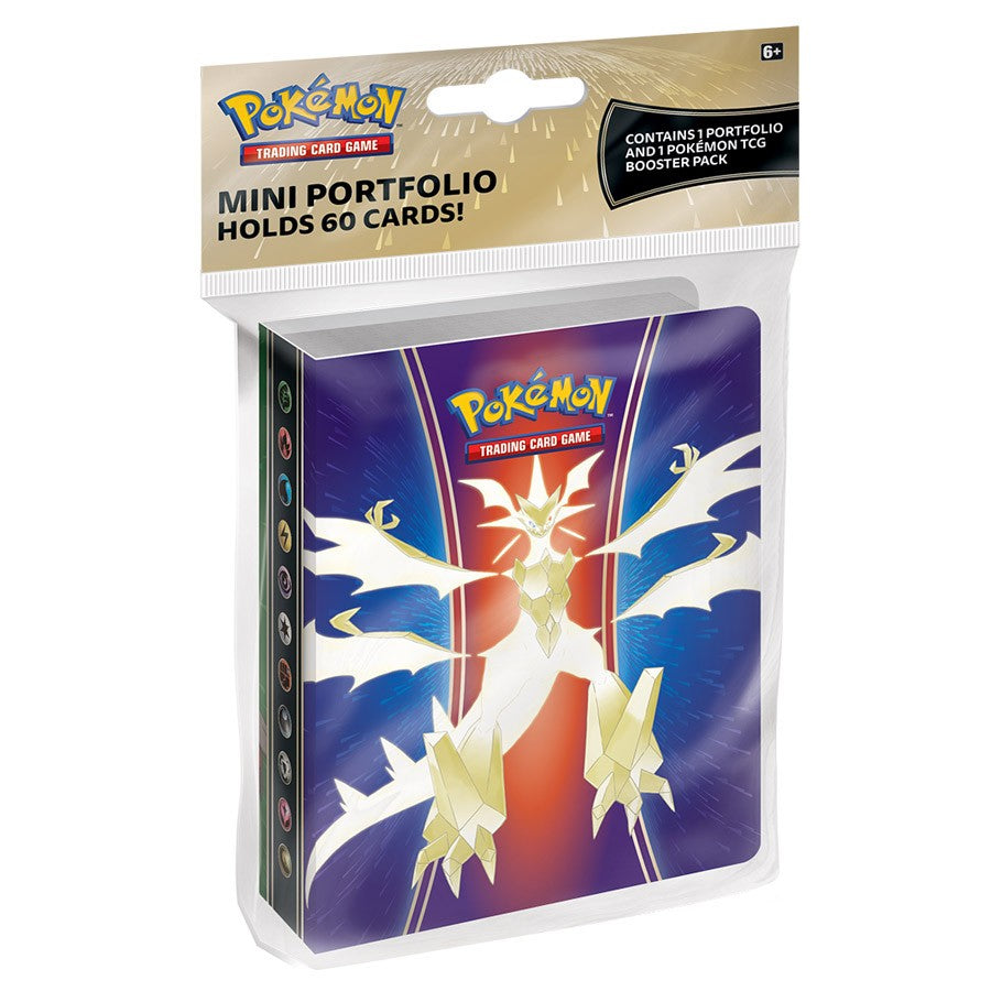 Pokémon - Sun & Moon: Forbidden Light - Mini Portfolio (60 Count) with Booster Pack