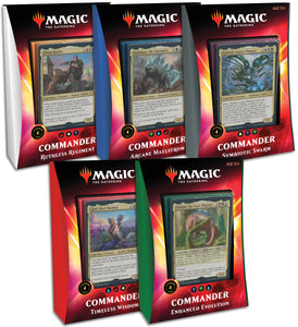 MTG - Commander 2020 Ikoria Decks (Factory Sealed)