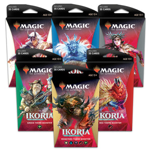 MTG - Ikoria: Lair of Behemoths - Theme Booster Set of 6 (Factory Sealed)