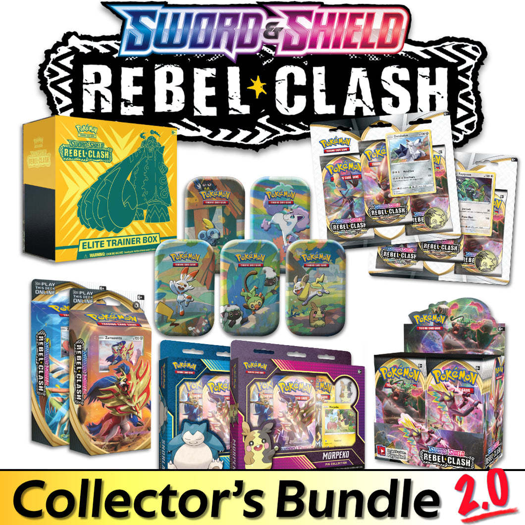 Pokémon - Sword & Shield: Rebel Clash - Collector's Bundle 2.0