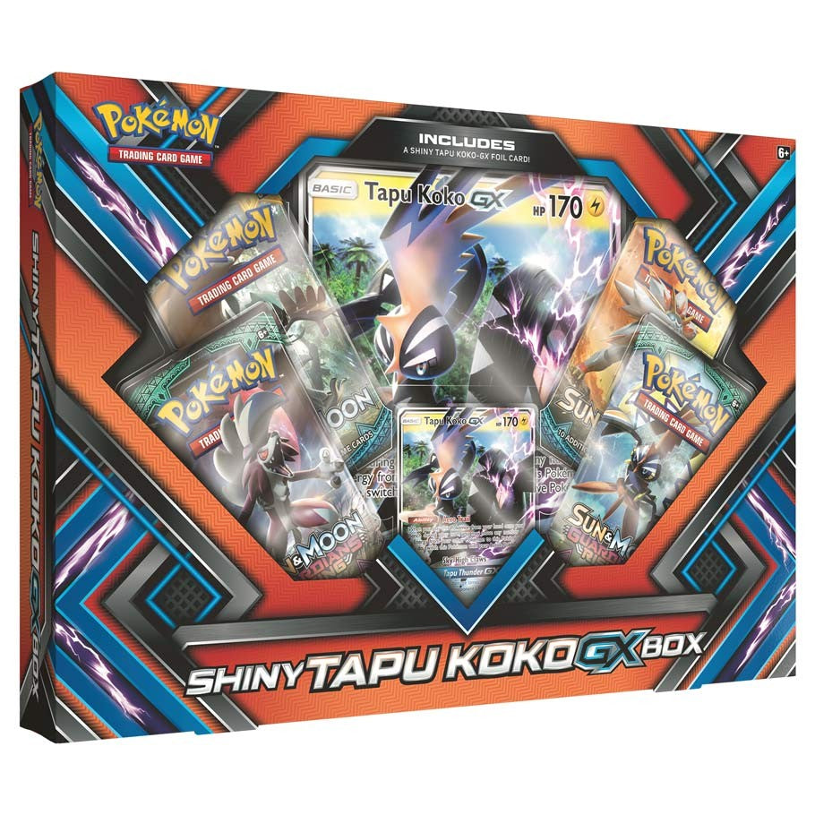 Pokémon - Sun & Moon: Shiny Tapu Koko GX Box