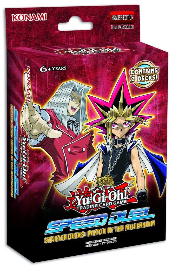 Yu-Gi-Oh! - Speed Duel Starter Decks: Match of the Millenium & Twisted Nightmares