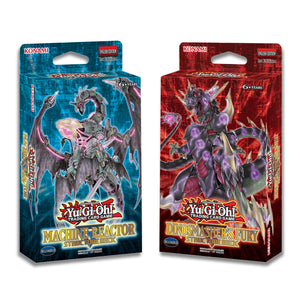 Yu-Gi-Oh! - Machine Reactor & Dinosmasher's Fury Structure Decks