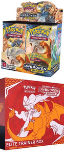 Pokémon - Sun & Moon: Unbroken Bonds - Booster Box / Elite Trainer Combo