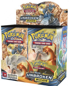 Pokémon - Sun & Moon: Unbroken Bonds - Booster Box (Factory Sealed)