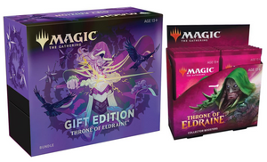 MTG - Throne of Eldraine Collector Box & Gift Bundle (Factory Sealed)