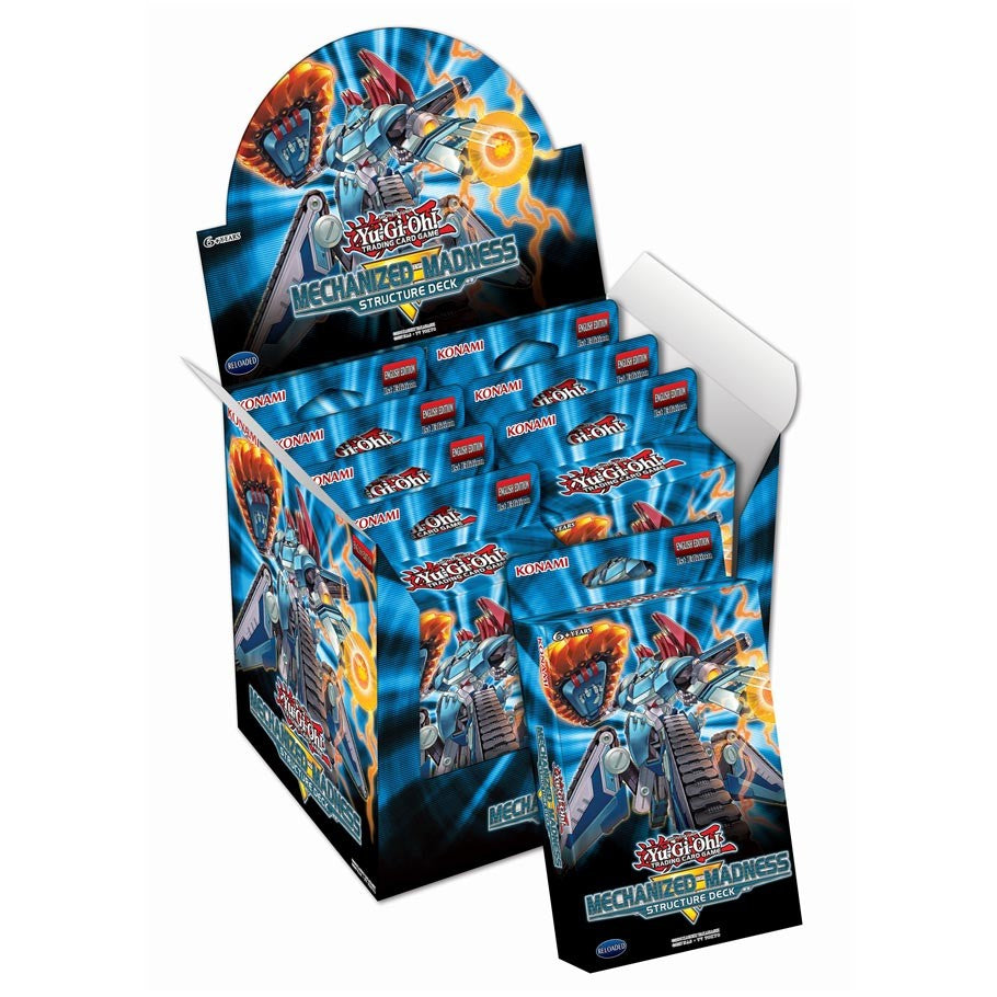 Yu-Gi-Oh! - Mechanized Madness Structure Deck