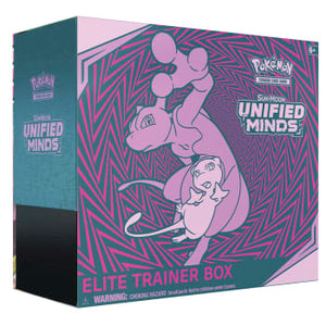 Pokémon - Sun & Moon: Unified Minds - Elite Trainer Box (Factory Sealed)