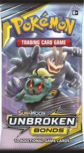 Pokémon - Sun & Moon: Unbroken Bonds - Booster Pack (Factory Sealed)