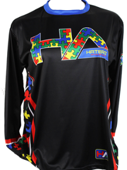 Autism Awareness Long Sleeve Jersey