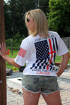 Patriotic Stand for the Cross Short Sleeved Jersey