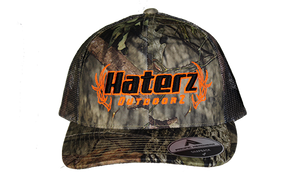 HaterZ Outdoors Camo snapback hat