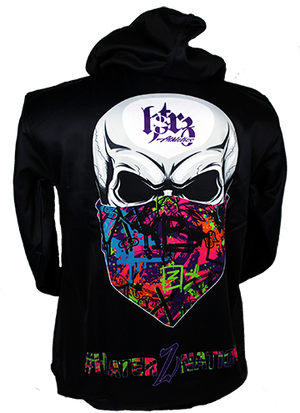 HaterZ Graffiti Skull Full Sublimation Hoodie