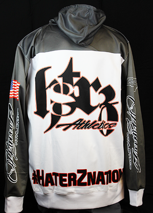 Classic Haterz Skull Hoodie