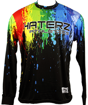 Paint Splatter Long-Sleeve Jersey