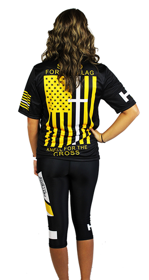 Full Sublimation Jersey -  Stand For the Cross