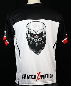 HA Skull Jersey -Red/Black/White