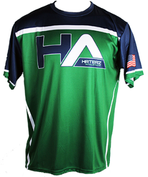 HaterZ HA Skull Full Sub Jersey (Navy/Green)