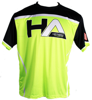 HaterZ HA Skull Jersey (Neon Yellow/Black)