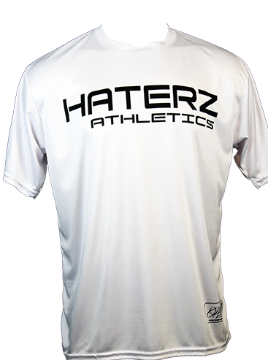 Full Sublimation Haterz Skull - Long-Sleeve Jersey (White, Black/Red)