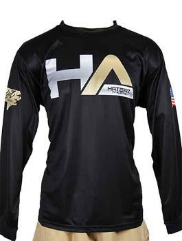 Carolina Gold-HA Logo Long Sleeve Jersey