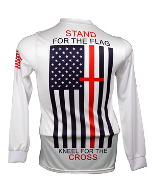 Patriotic Stand for the Flag Long-Sleeve Jersey