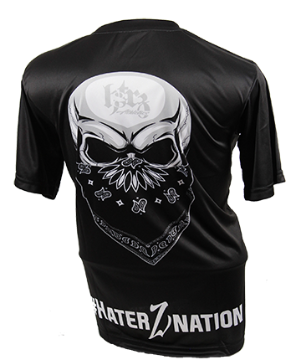 Full Sublimation Short Sleeve Haterz Block Logo