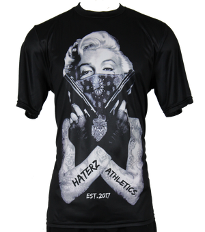 Full Sublimation Haterz Gonna Hate Marilyn - Short Sleeve